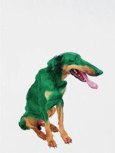 Green dog #4