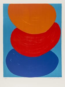 Ochre, Red and Blue (Kemp 50)