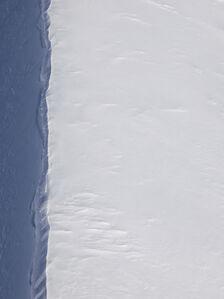 Ice Fold, Recherchebreen, Wedel Jarlsberg Land, Svalbard, Norway