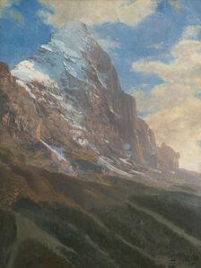 A Snow-Covered Peak