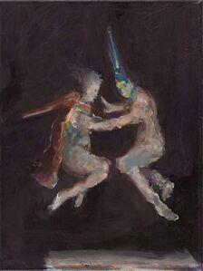 Ghost (nach Goyas Flug der Hexen)