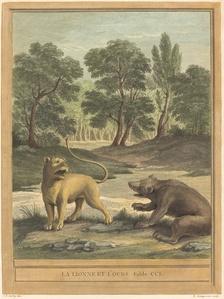 La lionne et l'ours (The Lion and the Bear)