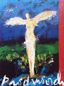 Angel with Red Stripe
