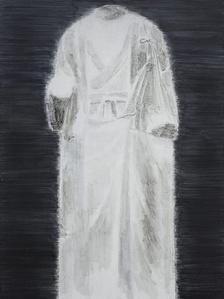 White Marble Figure of Buddha No.7