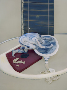 After Figure at a Washbasin, 1976