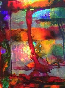 Untitled (Acid Flag I) detail