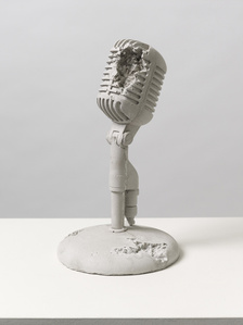 Rose Quartz Eroded Microphone