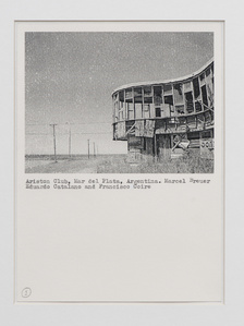 Untitled [Collection of modernist houses in ruins]
