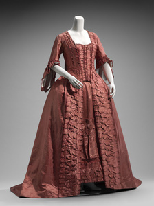 Dress in two parts, French