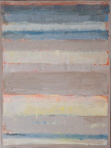 Untitled (Blue and Gray Bars)