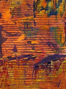 Composition in Orange