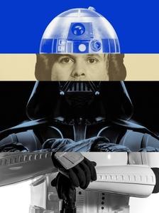Exquisite Self-Portrait: Star Wars I