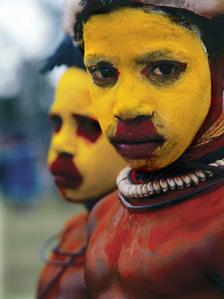 Yellow, Papua New Guinea