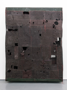 Flat Painting Bodfari 15 Caput Mortuum