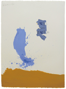 In Blue Ochre with Gauloises