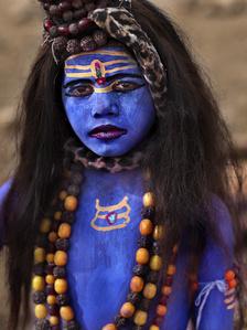 Blue, India