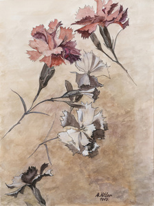 These are still Flowers 1913-2013 No. 10 还是花鸟画1913-2013 10号