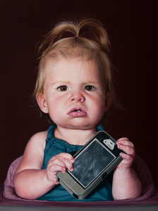 Baby with a Dead Phone