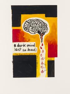 Notepad Drawings: A Dark Mind Isn't So Bad