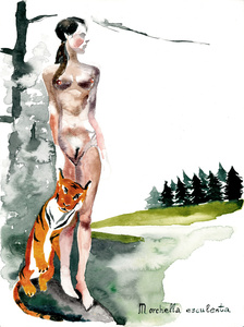 The Girl and the Tiger I