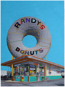 A Giant Donut in Inglewood