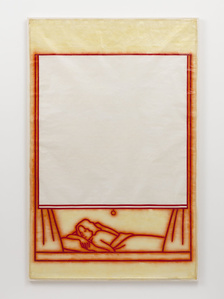 Untitled (woman lying in bed)