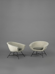 Pair of armchairs 58 - Corbeille