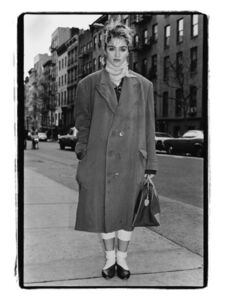 On the Street, Madonna, NYC, 1983