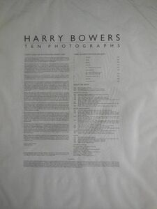 Rare Harry Bowers Vintage CPrint Photograph From Ten Photographs
