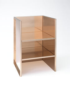 Copper armchair