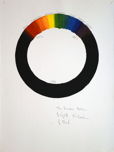 Visible Spectrum, 2007, Watercolor, ink, graphite on watercolor paper, 12 x 9 inches, VC06
