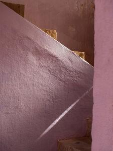 Pink Stairway at Restaurant