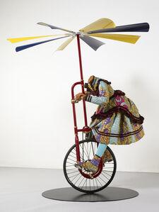 Girl on Flying Machine