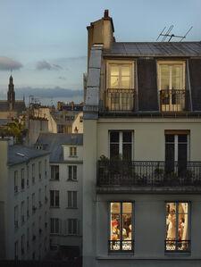 Rue du Faubourg St. Denis, Paris, 10e, le 17 mai