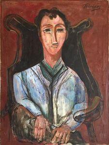 Seated Man, Portrait