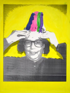 Indian Portraits: Late 20th Century Series: Yellow no. 5