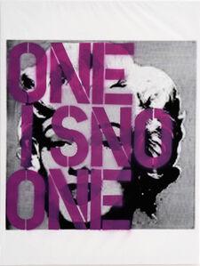 Untitled (One is no one/Violeta seguridad)