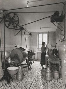 Type de laiterie dans une ferme Normande