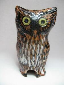 Terracotta Owl I
