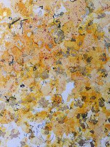 Saffron Series: Saffron Sun No. 2