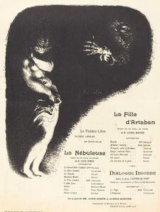 La Fille d'Artaban; La Nébuleuse; Dialogue inconnu