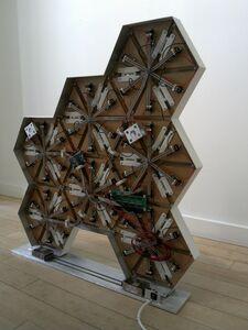 0rigam1- Rhombus freeform- Back View