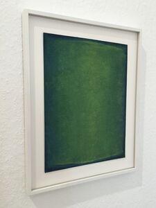 Green gouache