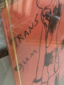 """""""Trans-Gum"""", SIGNED EDITION of 30."""