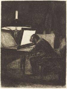 The Printmaker (Le Graveur)