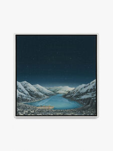Glacial Lake with Blonde Girls 4