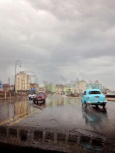 AbstractCuba Series 'Havana in the Rain'
