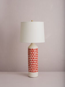 Checkered Lamp (Red)