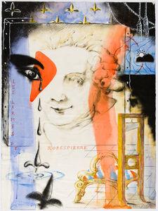 Las lagrimas de Robespierre par un Maitre inconnu