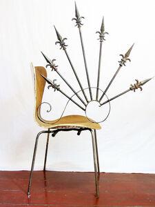 Design da Turbação - Ofendículo Espiral 21 (ou lacraia) para cadeira série 7 do Arne Jacobsen [Design of Disturbance - Spiral barrier (or centipede) to chair series 7 by Arne Jacobsen]